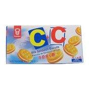 C+C Milk Sandwich Biscuits (嘉頓牛奶夾心餅)