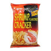 Hot & Spicy Shrimp Flavoured Cracker (農心辣蝦條)