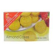 Almond Cakes (中山杏仁餅)