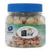 White Sesame-Balls, Coated Peanuts (芝麻花生)