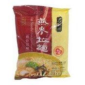 Oat Noodles (Pork Rib Flavor) (壽桃燕麥拉面豬骨湯味)