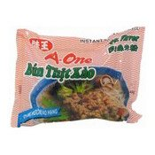 Instant Rice Vermicelli (Pork) (味王肉燥米粉)