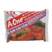 Instant Noodles (Kim Chi & Shrimp) (味王泡菜蝦麵)