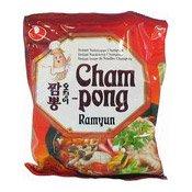 Cham-Pong Ramyun (農心雜錦海鮮辣麵)