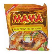 Instant Noodles Jumbo Pack (Shrimp Creamy Tom Yum) (媽媽冬蔭功蝦麵)