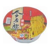 Instant Bowl Noodles (Stewed Beef) (今麦郎弹面牛肉碗)