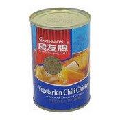 Vegetarian Chilli Chicken (良友牌辣味素雞)