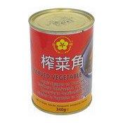 Preserved Vegetable Halves (金梅榨菜)