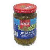 Mustard Greens In Soya Sauce (良友牌開味酸菜)