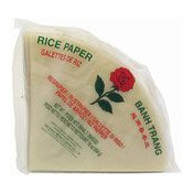 Rice Paper Spring Roll Wrappers Triangle (玫瑰牌三角米紙)