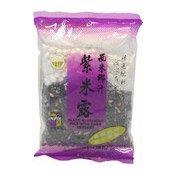 Black Glutinous Rice With Sago (紫米露)