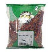 Dried Birdseye Chillies (Whole) (三獅牌乾指天椒)