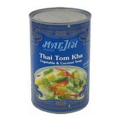 Thai Tom Kha Vegetable & Coconut Soup (泰式冬家)