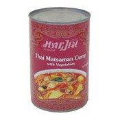 Thai Matsaman Curry With Vegetables (泰式馬斯文咖哩雜菜湯)