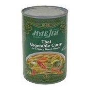 Thai Vegetable Curry In Spicy Green Sauce (泰式什菜咖哩)