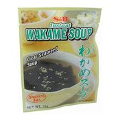 Instant Wakame Soup (Seaweed) (日本菜湯細粉)