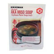 Instant Aka Miso Soup (Soybean Paste, Red) (萬字日本麵豉湯料)