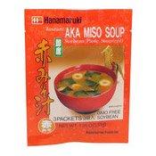 Instant Aka Miso Soup (Soybean Paste, Red) (日本味增湯)
