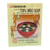Instant Tofu Miso Soup (日本湯料)