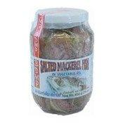 Salted Mackerel Fish In Vegetable Oil (油浸馬鮫咸魚)
