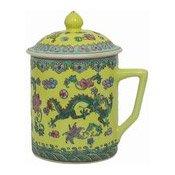 Mug With Lid (Oriental Yellow) (黃龍茶杯連蓋)