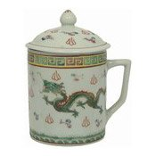 Mug With Lid (Oriental White) (白龍茶杯連蓋)