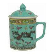 Mug With Lid (Oriental Green) (青龍茶杯連蓋)