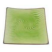 Square Serving Plate (Jade Pattern) (翡翠方碟)
