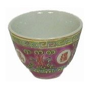 Chinese Teacup (Oriental Red Pattern) (紅萬壽茶杯)
