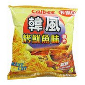 Korean Cuttlefish Potato Chips (卡樂B烤魷魚薯片)