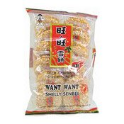 Rice Crackers (Spicy) (Shelly Senbei) (旺旺辣味雪餅(SPICY))