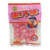 Juice Chewy Candy (Strawberry) (徐褔記果汁糖)