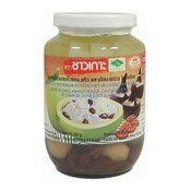 Coconut Gel, Red Bean, Water Chestnut, Coconut (查哥椰子馬蹄)