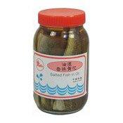 Salted Teeth Croaker In Oil (油泡咸魚)