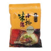 Xiao Qiao Rice Vermicelli (Pork & Pickled Mustard) (壽桃肉絲榨菜米線)