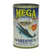 Sardines In Natural Oil (油浸沙丁魚)