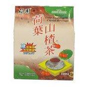 Instant Lotus Leaf Hanthorn Crystal Beverage (荷葉山楂茶)