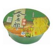 Instant Bowl Noodles (Stewed Pork) (今麦郎弹面豬肉)
