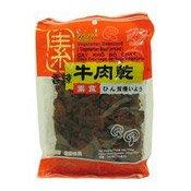 Vegetarian Beancurd (Hot Beef Jerky Flavour) (萬里香素香辣牛肉乾)