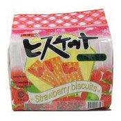 Strawberry Biscuits (草莓夾層餅)