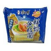 Instant Noodles (Prawn & Fish) (康師傅鮮蝦魚板麵)