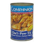 Cha'i Pow Yu (Braised Gluten) (良友牌齋鮑魚)