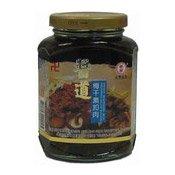 Shiitake Mushrooms With Preserved Salted Musta (醬道梅干素扣肉)