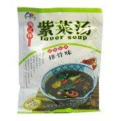 Laver Soup (Rib) (豬骨紫菜湯)