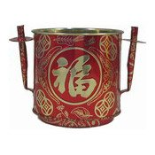 Red & Gold Joss Pot (Large) (青島咖喱角)