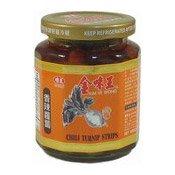 Chilli Turnip Strips (金味王香辣蘿蔔)