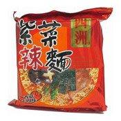 Seaweed Hot &Spicy Instant Noodles (四洲即食麵)