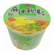 Sesame Oil & Chicken Flavour Instant Bowl Noodles (麻油雞湯麵)