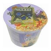 Seaweed Instant Bowl Noodles (四洲紫菜即食麵)