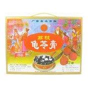 Herbal Jelly (Guilinggao) (Lychee) (三钱牌荔枝味龜苓膏)
